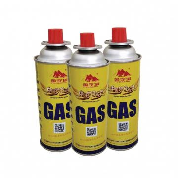 Universal butane gas canister refill 150ml-70g Cylinder for camping stove