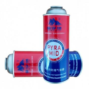 Explosion Proof butane gas cartridge propane aerosol canister and butane canister made in china