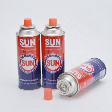 Camping Round Shape  Accessory of Empty Aerosol Spray Butane Gas Canister