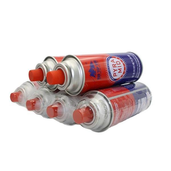 Butane Canister Refill butane gas cartridge and aerosol container 220g