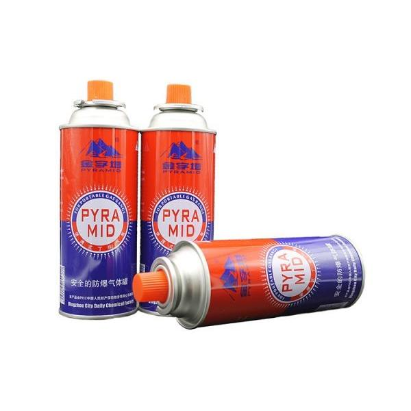 300ml factory  butane gas cartridge and aerosol container Butane gas fuel and aerosol container