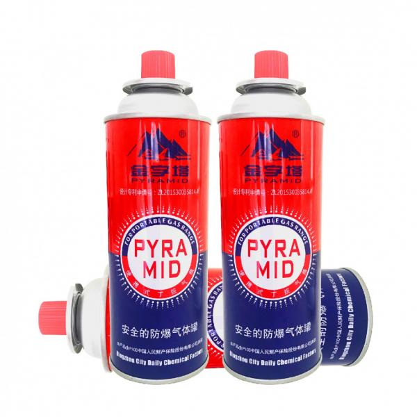 Butane gas canister BBQ Fuel Cartridge for portable gas stove