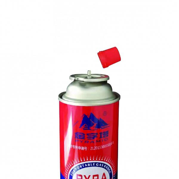 Refill for Portable Stove Empty butane gas cartridge and camping gas butane canister refill